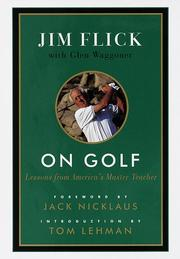 Cover of: On golf