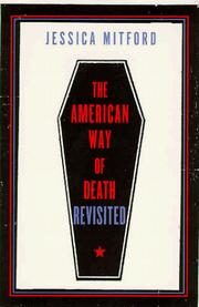 Cover of: The American way of death revisited