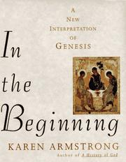 Cover of: In the Beginning: A New Interpretation of Genesis
