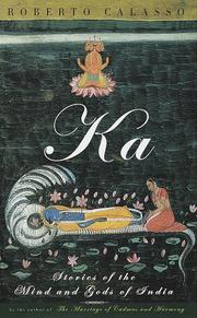 Cover of: Ka | Roberto Calasso
