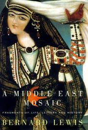Cover of: A Middle East Mosaic
