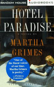 Cover of: Hotel Paradise (Emma Graham Mysteries (Audio))