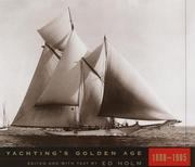Cover of: Yachting