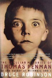 Cover of: The peculiar memories of Thomas Penman