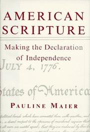 Cover of: American scripture | Pauline Maier