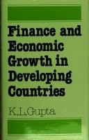 Cover of: Finance and economic growth in developing countries