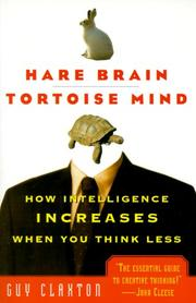 Cover of: Hare Brain, Tortoise Mind