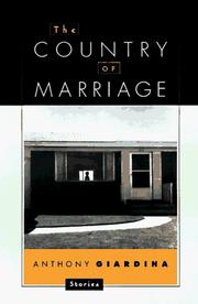 Cover of: The country of marriage