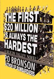 Cover of: The First $20 Million Is Always the Hardest