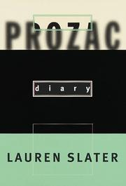 Cover of: Prozac diary