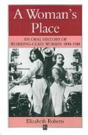 Cover of: A woman's place