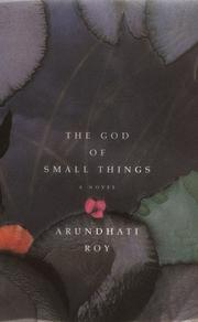 Cover of: The god of small things