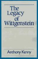 Cover of: The legacy of Wittgenstein