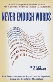 Cover of: Never Enough Words