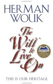 Cover of: The Will to Live On | Herman Wouk