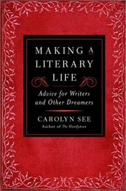 Cover of: Making a literary life