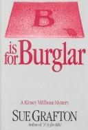 Cover of: B Is for Burglar