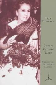 Cover of: Seven Gothic Tales | Isak Dinesen