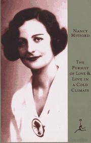 Cover of: The pursuit of love: a novel