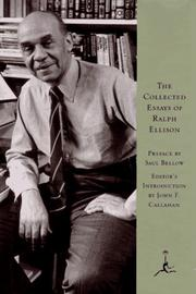 Cover of: The collected essays of Ralph Ellison