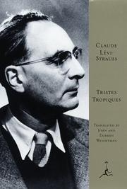 Cover of: Tristes Tropiques | Claude LГ©vi-Strauss
