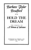 Cover of: Hold the dream