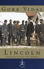Cover of: Lincoln (Modern Library)