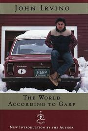 Cover of: The World According to Garp: a novel