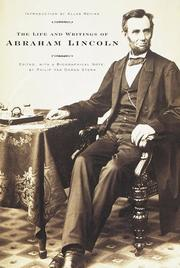 Cover of: The life and writings of Abraham Lincoln