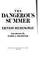 Cover of: The dangerous summer