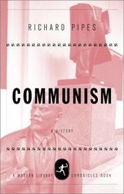 Cover of: Communism