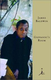 Giovanni's room by James Baldwin, James Baldwin