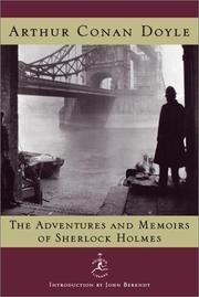 Cover of: The adventures and memoirs of Sherlock Holmes | Arthur Conan Doyle