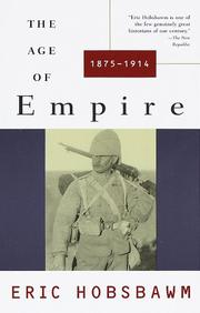Cover of: The age of empire, 1875-1914