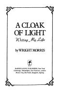 Cover of: A cloak of light