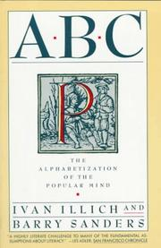 Cover of: ABC: the alphabetization of the popular mind