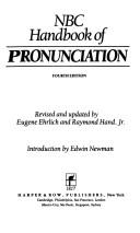 Cover of: NBC handbook of pronunciation