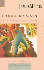 Cover of: Three by Cain