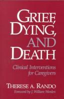 Cover of: Grief, dying, and death