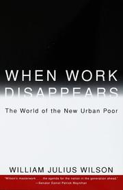 Cover of: When Work Disappears