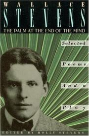Cover of: The palm at the end of the mind