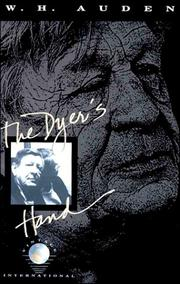 Cover of: The Dyer's Hand by W. H. Auden