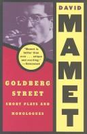 Cover of: Goldberg Street: short plays and monologues