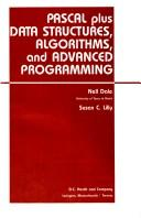 Cover of: Pascal Plus data structures, algorithms, and advanced programming