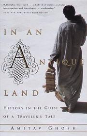 Cover of: In an antique land