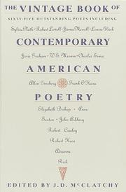 Cover of: The Vintage book of contemporary American poetry |
