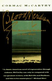 Cover of: Blood Meridian, or the Evening Redness in the West