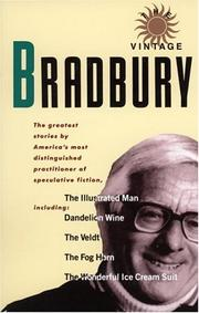 Cover of: The vintage Bradbury: Ray Bradbury's own selection of his best stories.