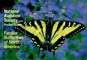 Cover of: National Audubon Society Pocket Guide to Familiar Butterflies Of North America (Audubon Society Pocket Guide)