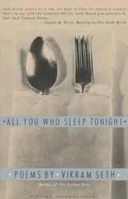 Cover of: All you who sleep tonight